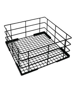 Wire Glass Rack (High Sided) 500mm
