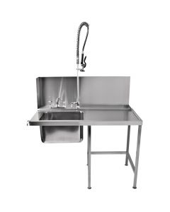 Classeq Pass-Through Table with Spray Mixer Right