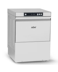 Asber Tech Glasswasher 500mm + Integral Softener