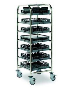 Dishwasher Basket Trolley Low Level (4 Baskets)