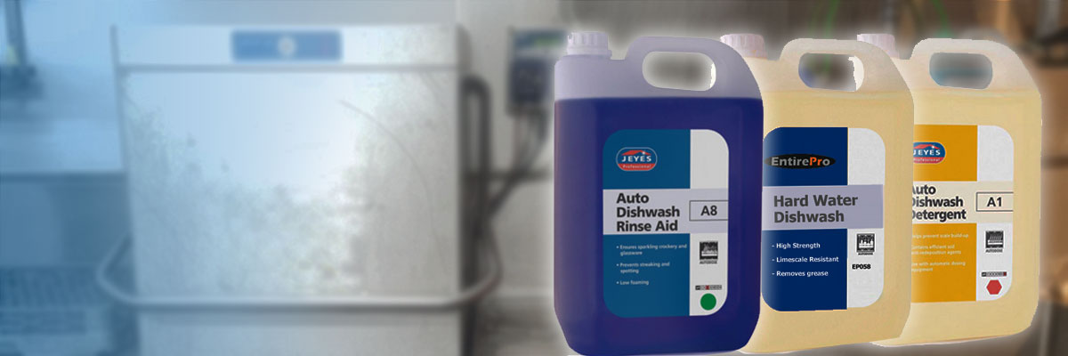 Commercial Dishwasher Chemicals