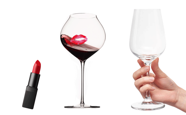 How to remove lipstick from your glassware
